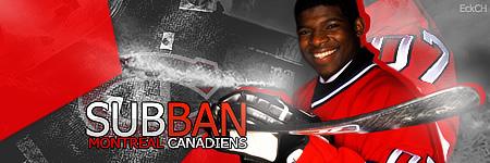 Montréal Canadiens. Subban